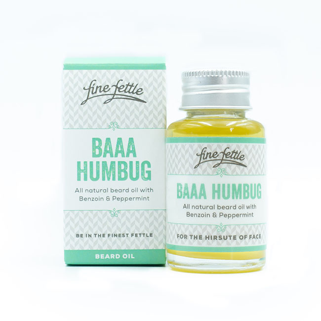 finefettle baaa humbug beard oil